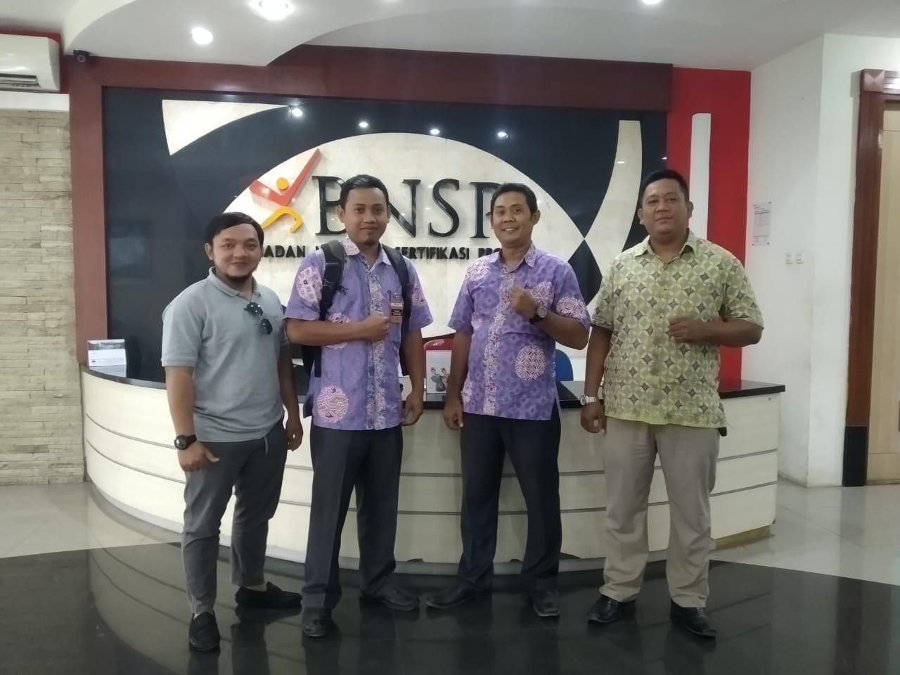 Pengajuan Lisensi LSP-1 BNSP